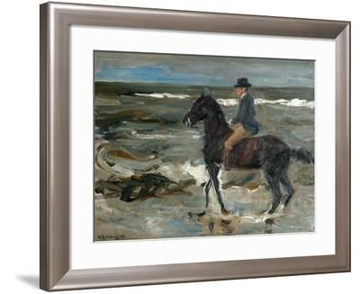 Rider on the Beach-Max Liebermann-Framed Giclee Print