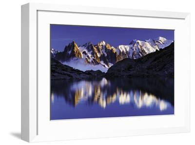 Ridge Reflection-Wild Wonders of Europe-Framed Giclee Print