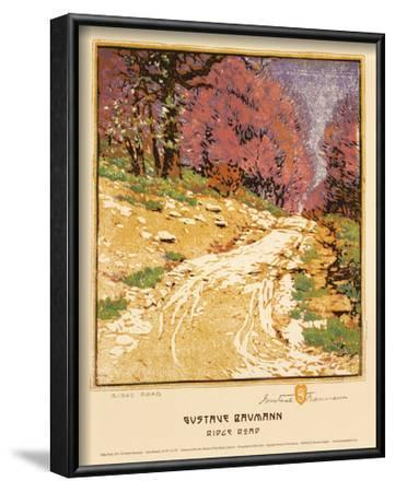 Ridge Road-Gustave Baumann-Lamina Framed Art Print