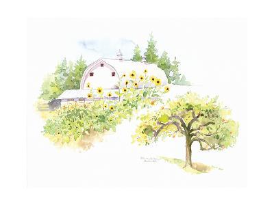 Ridgefield Barn III-Gwendolyn Babbitt-Art Print