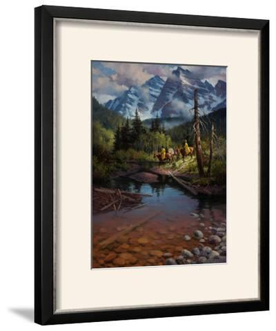 Ridin' the High Country-Jack Sorenson-Framed Photographic Print