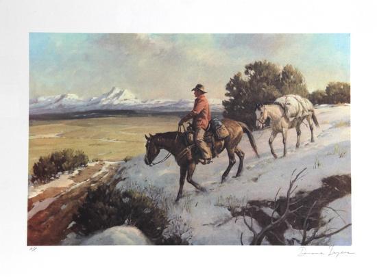 Riding Chuck Line-Duane Bryers-Limited Edition