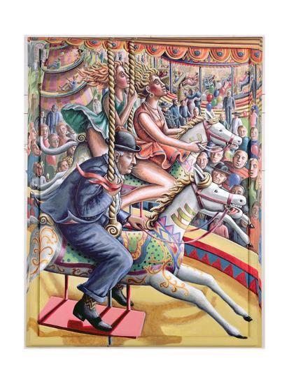 Riding High-P.J. Crook-Giclee Print