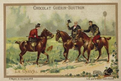 Riding Horses--Giclee Print