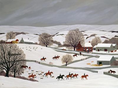 Riding in the Snow-Vincent Haddelsey-Giclee Print