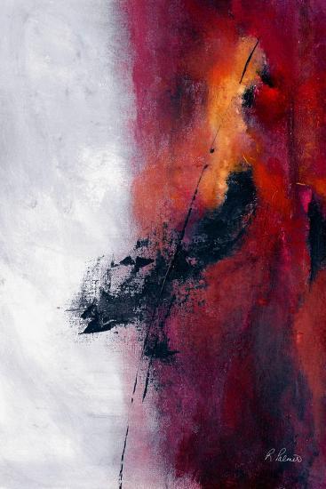 Riding The Fence-Ruth Palmer-Art Print