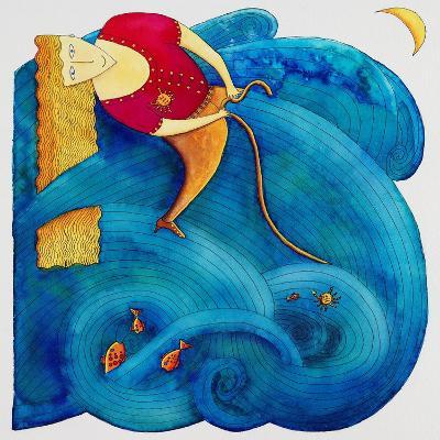 Riding the Waves, 1992-Julie Nicholls-Giclee Print
