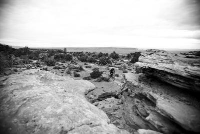 Riding Through Moab, Utah-Matt Jones-Photographic Print