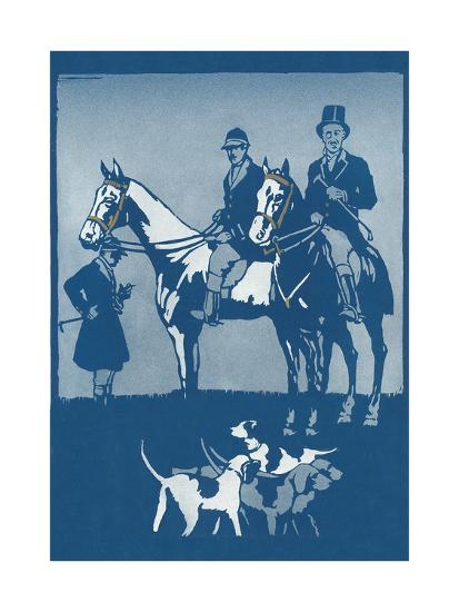 Riding to Hounds Poster--Art Print