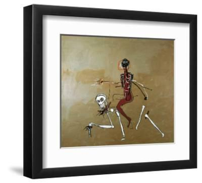 Riding with Death, 1988-Jean-Michel Basquiat-Framed Poster