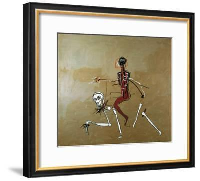 Riding with Death, 1988-Jean-Michel Basquiat-Framed Giclee Print