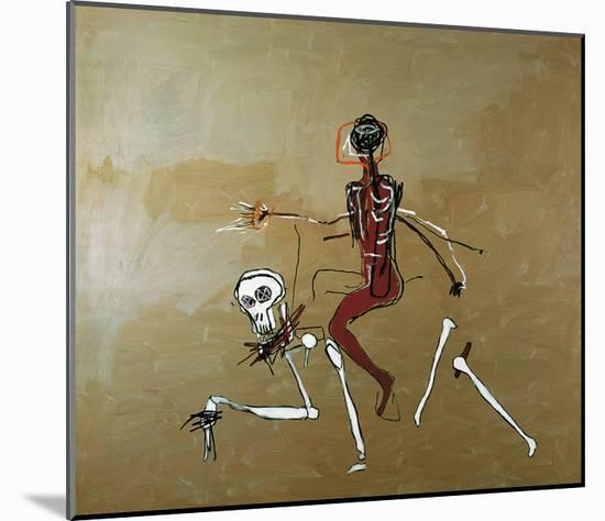 Riding with Death, 1988-Jean-Michel Basquiat-Mounted Giclee Print