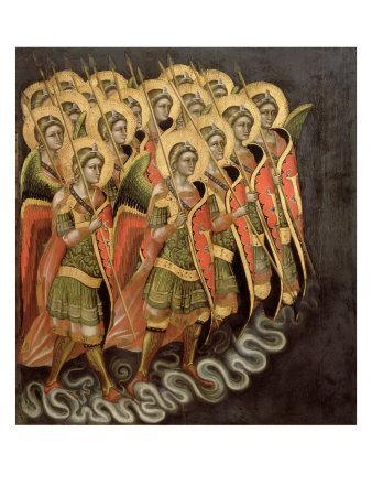 The Heavenly Militia, c.1348-54