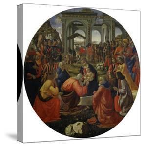Adoration of the Magi C.1487 by Ridolfo Ghirlandaio