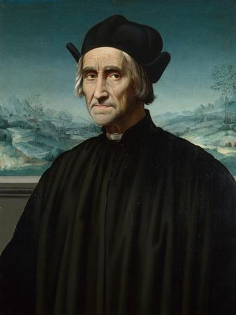 Portrait of Girolamo Benivieni (1453-154), Between 1515 and 1520