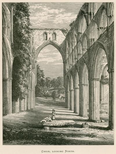 Rievaulx Abbey, Choir, Looking North-Alexander Francis Lydon-Giclee Print