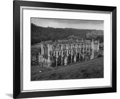 Rievaulx Abbey-Fred Musto-Framed Photographic Print