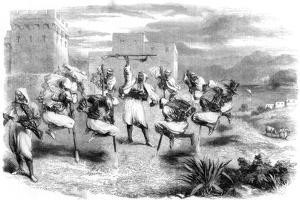 Riffian Nuptial Dance in Tangier, 1860