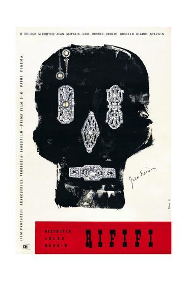 Rififi, Polish Poster Art, 1955--Giclee Print
