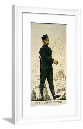Rifleman of the 10th Gurkha Rifles, Indian Army, 1938--Framed Giclee Print