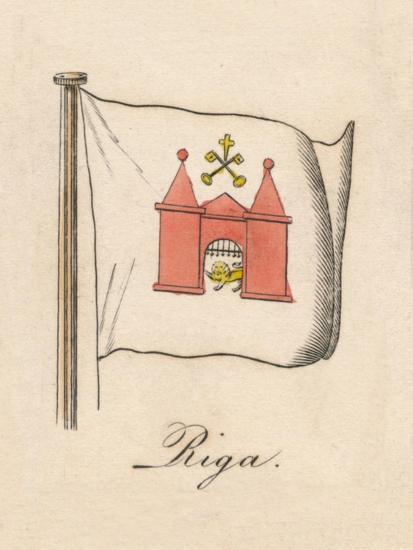 'Riga', 1838-Unknown-Giclee Print