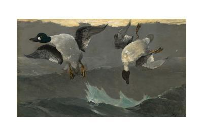Right and Left, 1909-Winslow Homer-Giclee Print
