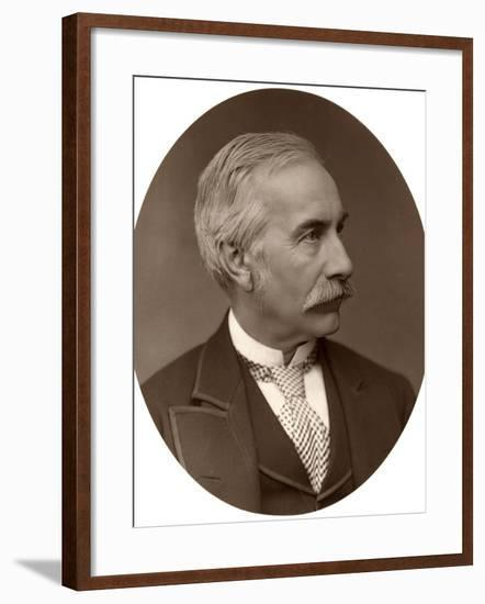 Right Hon Sir Henry Bartle Frere, Bart, KCB, GCB, British Colonial Administrator, 1876-Lock & Whitfield-Framed Photographic Print