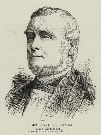 Right Reverend Dr J Fraser--Giclee Print