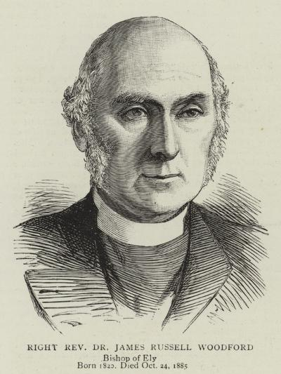 Right Reverend Dr James Russell Woodford--Giclee Print