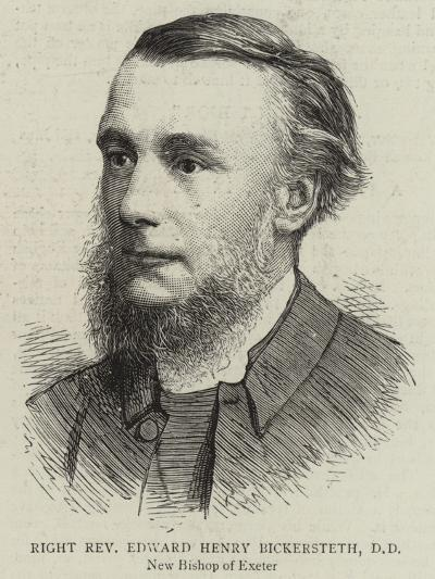 Right Reverend Edward Henry Bickersteth--Giclee Print