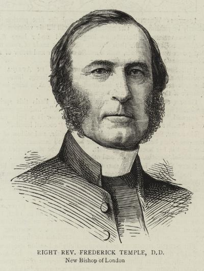 Right Reverend Frederick Temple, Dd--Giclee Print