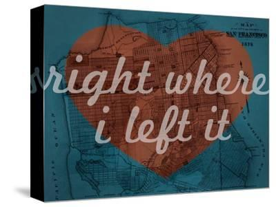 Right Where I Left it - 1876, San Francisco 1876, California, United States Map