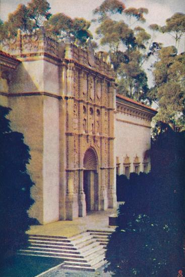'Right Wing of Fine Arts Gallery', c1935-Unknown-Giclee Print