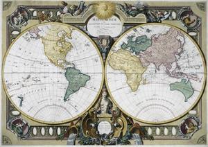 Mappe Monde by Rigobert Bonne