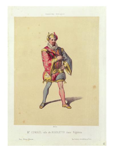 Rigoletto by Giuseppe Verdi--Giclee Print