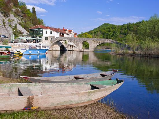 Rijeka Crnojevica, Montenegro, Europe-Michael Runkel-Photographic Print