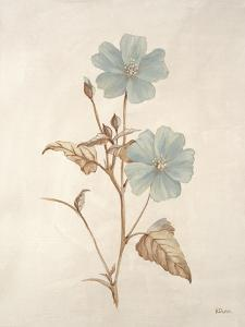 Botanicals Series Blue I by Rikki Drotar