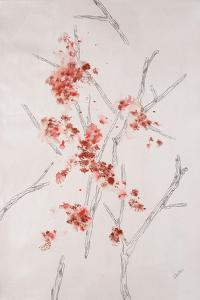 Delicate Blossoms II by Rikki Drotar