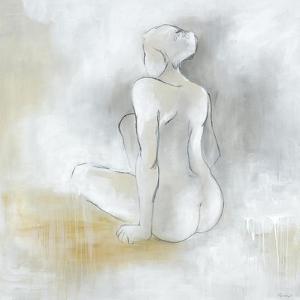 Lady Sitting by Rikki Drotar
