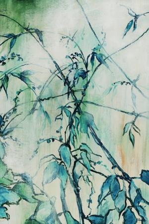 Turquoise Garden by Rikki Drotar