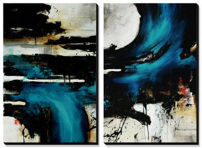 Turquoise Splash by Rikki Drotar