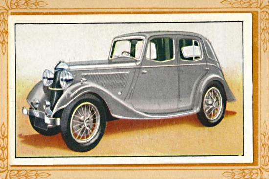 'Riley 1 1/2-Litre Falcon Saloon', c1936-Unknown-Giclee Print