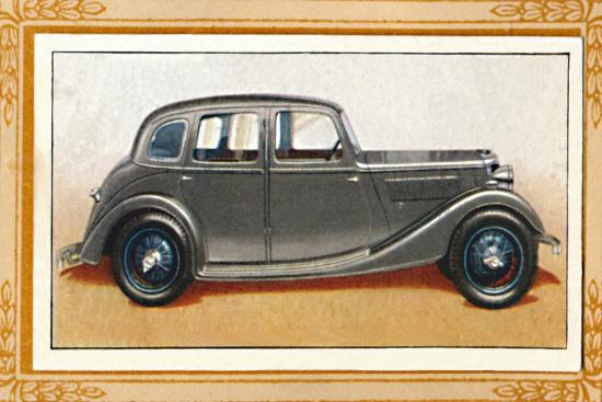 'Riley Eight-90 Adelphi Saloon', c1936-Unknown-Giclee Print