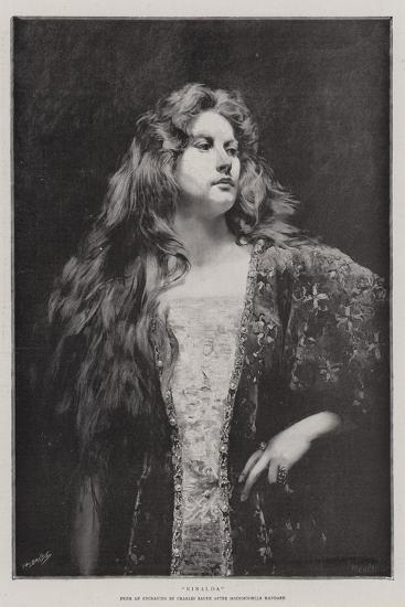 Rinalda-Charles Baude-Giclee Print
