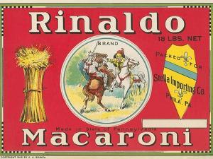 Rinaldo Macaroni Label