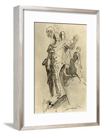 'Rinaldo or Aeneas', 1757, (1928)-Giovanni Battista Tiepolo-Framed Giclee Print