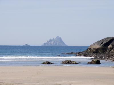 Ring of Kerry With the Skellig Rock in Distance, County Kerry, Munster, Republic of Ireland, Europe--Photographic Print
