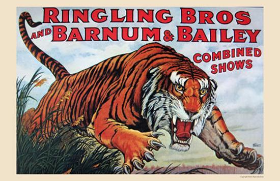 Ringling Bros and Barnum & Bailey--Art Print