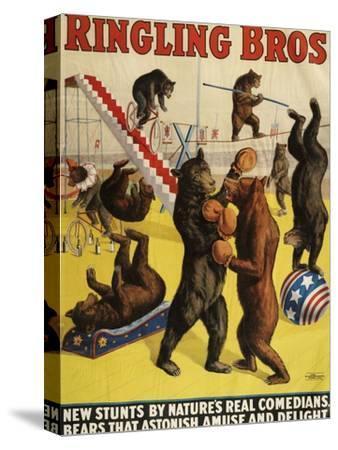 Ringling Bros, Poster, 1900