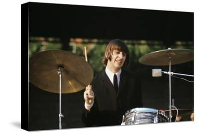 Ringo Starr Playing Drums